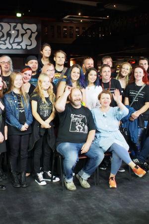 To Nightwish with love -dokumentin kuvaajat, yhteiskuva