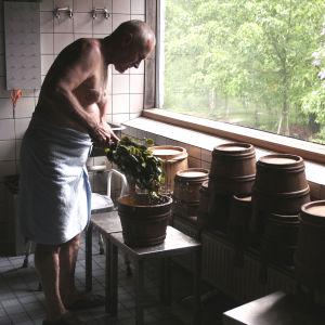 Kuva saunasta.