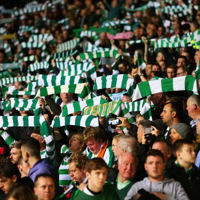 Celtics anhängare i Champions League.