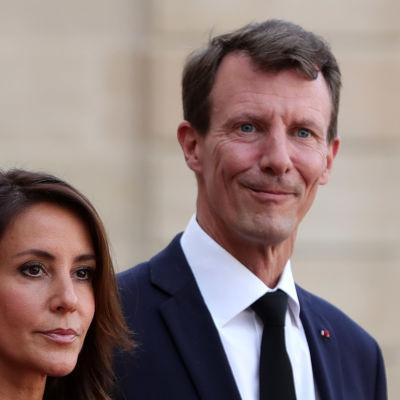 Prins Joachim av Danmark samt prinsessan Marie.