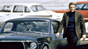 Steve McQueen elokuvassa Bullitt (1968).
