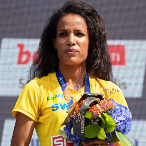 Meraf Bahta vann EM-brons på 10 000 meter i Berlin.