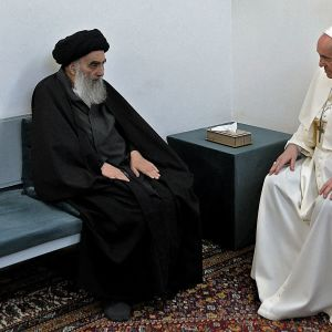 Påven besöker Irak