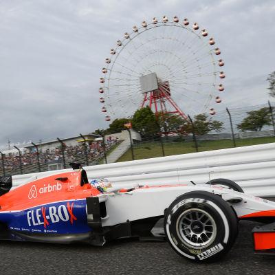 Will Stevens, Manor Marussia, F1 2015.