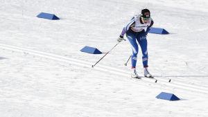 finländsk skidåkare