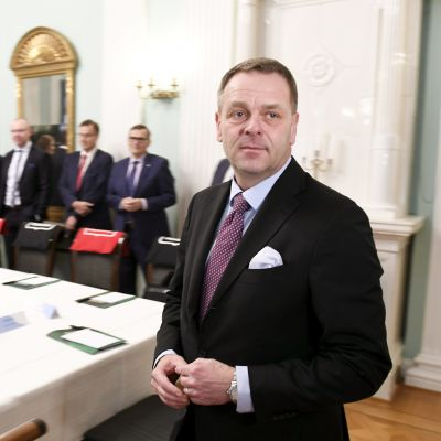 Jan Vapaavuori, borgmästare i Helsingfors.