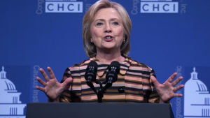 Hillary Clinton talar 15.09.2016