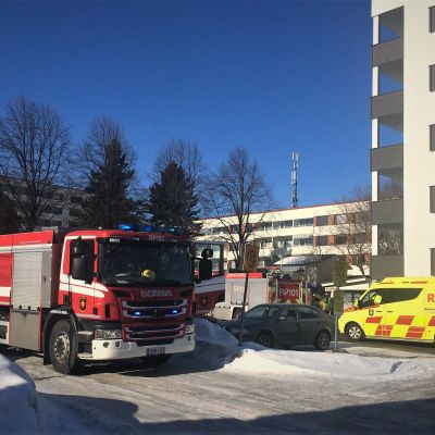 Tulipalo Vaasassa 18.3.2021