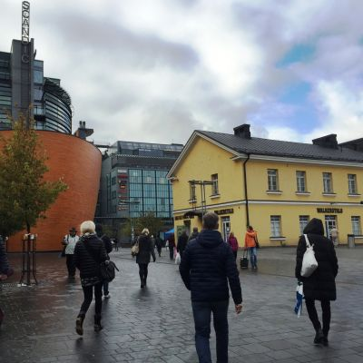 Människor i Helsingfors