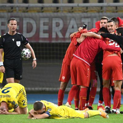 Pohjois-Makedonia vs Kosovo jalkapallo