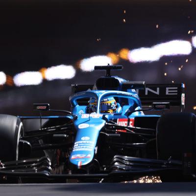 Fernando Alonso Monacossa