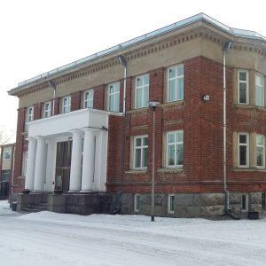 Nordkalks huvudbyggnad i Pargas.