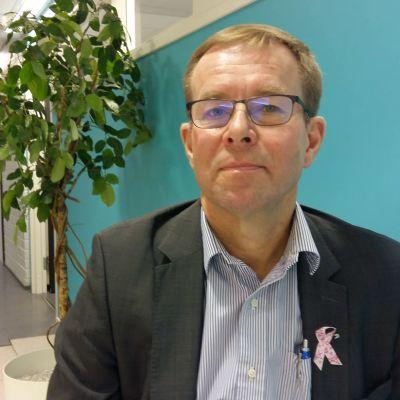 Hannu Halila är vice verksamhetsledare för Läkarförbundet.