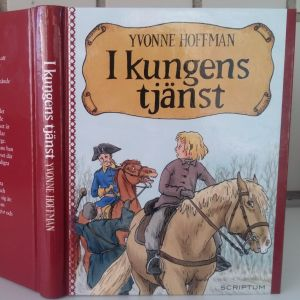 pärmen till Yvonne Hoffmans bok I Kungens tjänst