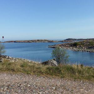 Öar, vatten och vägar på Utö.