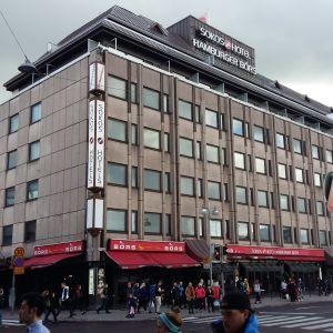 Hotell Hamburger Börs på Eriksgatan i Åbo.