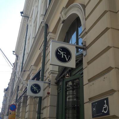 Svenska folkskolans vänners hus i Helsingfors.