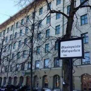 Veritas huvudkontor i Olofsparken i Åbo.