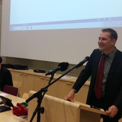 Viktor Kock ordförande FSD.