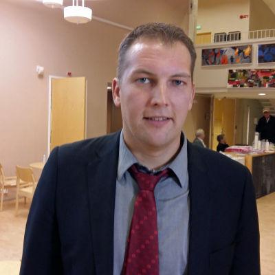 FSD:s ordförande VIktor Kock
