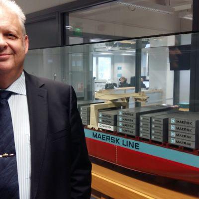 Michael Energ, vd på Maersk Finland