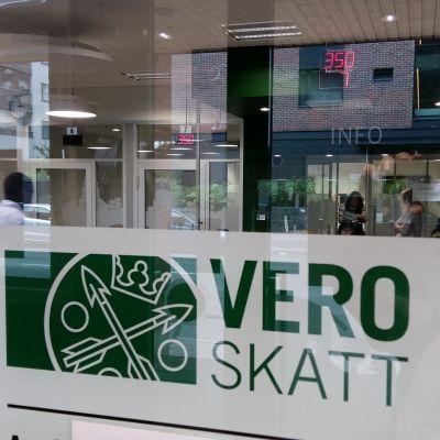 Skatteförvaltningen i Åbo.