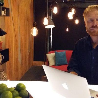 Henrik Lindberg, vd för Parad Media