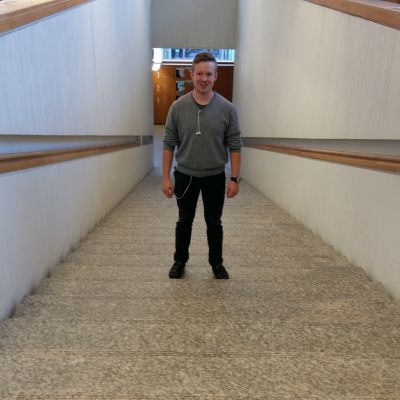 Klaus Kurki studerar nordiska språk vid Åbo Universitet