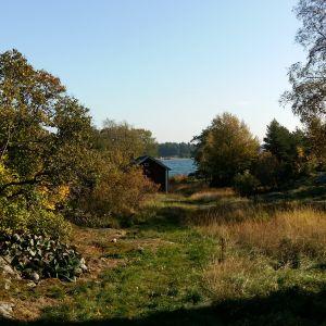 Sommarstuga i skärgården.