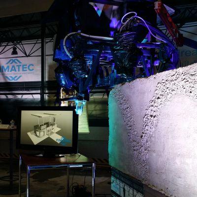 Fimatecin tekniikalla betoniin voidaan tehdä myös kuvioitu pinta.