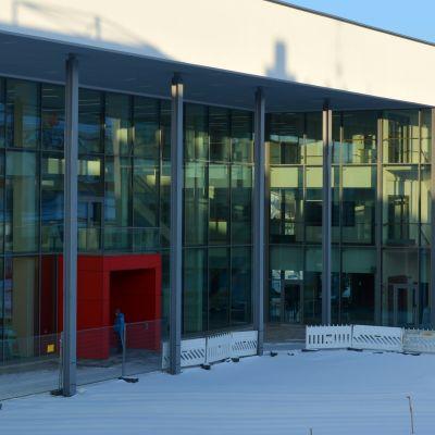 S:t Karinshusets fasad.