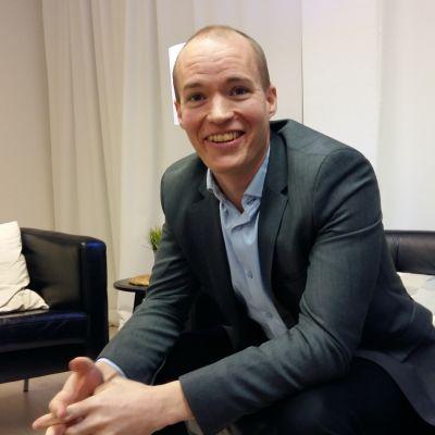Ted Wallin är affärsutvecklare på it-företaget Gambit i Vasa.