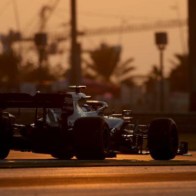 Valtteri Bottas Abu Dhabin aika-ajossa 2019.