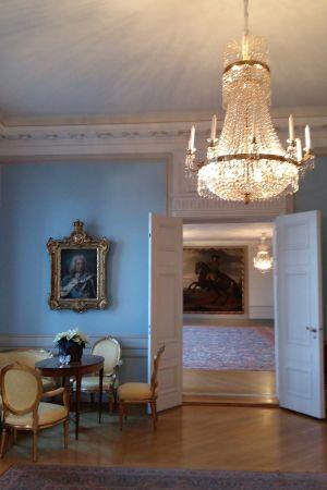 Interiör från Sveriges ambassad i Helsingfors