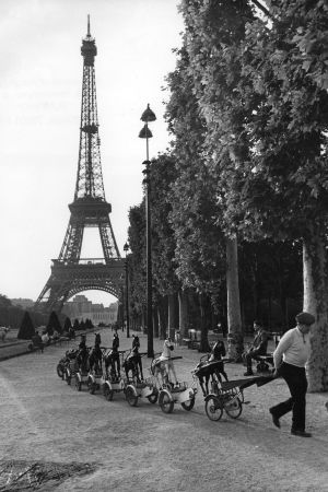 a cavalerie du Champs de Mars,