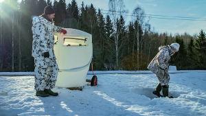 Jaakko Pohjoismäki ja Manu Soininmäki ovat tutkijakumppaneita.