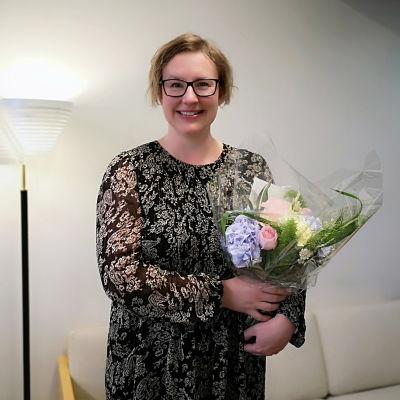 Milla Hautala on uusi Seinäjoen kaupunginteatterin toimitusjohtaja.
