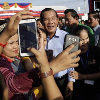 Hun Sen Phnom Penhissä