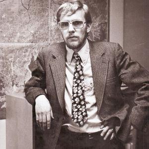 Pekka Piri nuorena miehenä 1970-luvulla.