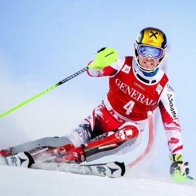 Marcel Hirscher vann i Åre