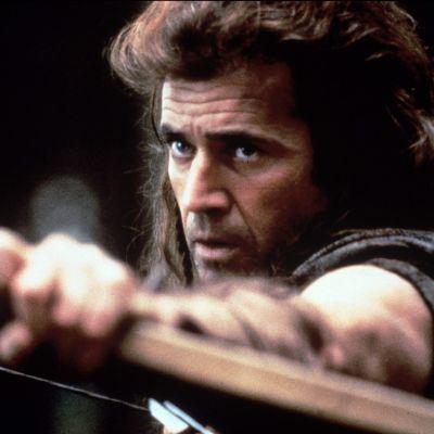 Mel Gibson voitti Oscarin vuoden 1995 elokuvastaan Braveheart – taipumaton.