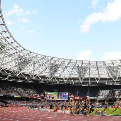 Timanttiliiga naiset 1500m Lontoossa 2019
