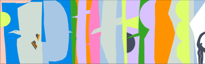 Ett konstverk, Liito, av Laura Merz.