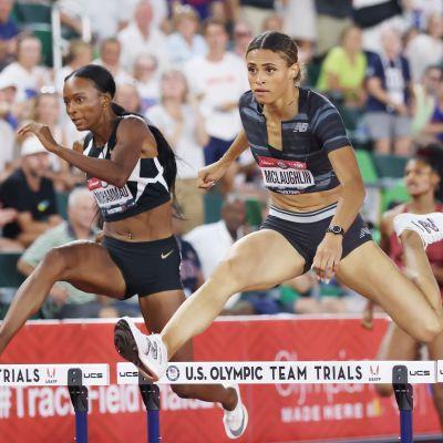 Sydney McLaughlin är ny världsrekordhållare på 400 meter häck.