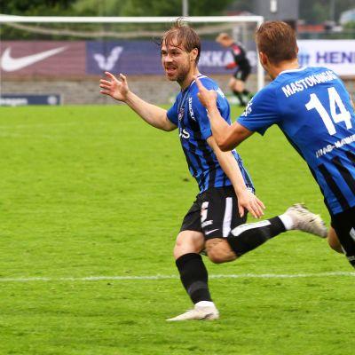 Aleksi Paananen ja Elias Mastokangas