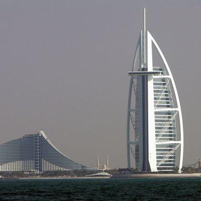 Lyxhotellet Burj al-Arab i Dubai