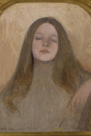 Bild ur Åbo Konstmuseums utställning om Ellen Thesleff