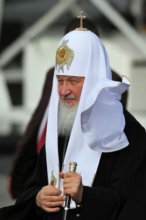 Patriarken Kirill.
