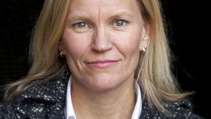 Foto på den finländska journalisten Katarina Baer.