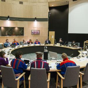 Sametingets möte den 18 december 2018.